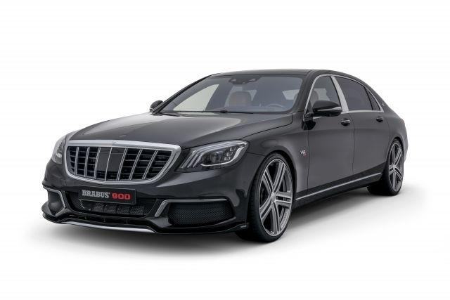 The Brabus 900 based on the Mercedes-Maybach S 650