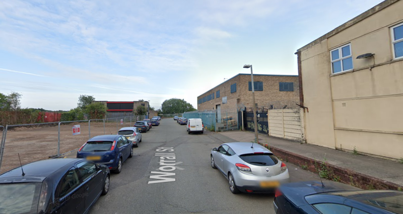 Worrall Street in Ordsall, Salford, where police said they dispersed an illegal gathering at the weekend. (Google Maps)