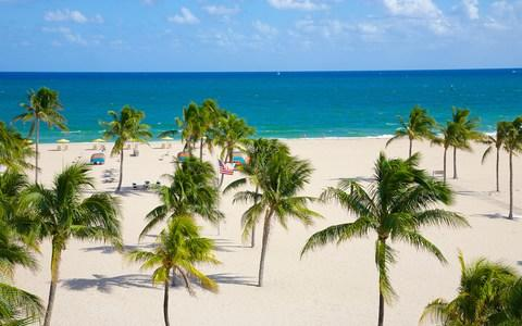 Beach at Fort Lauderdale, Florida - Credit: Getty