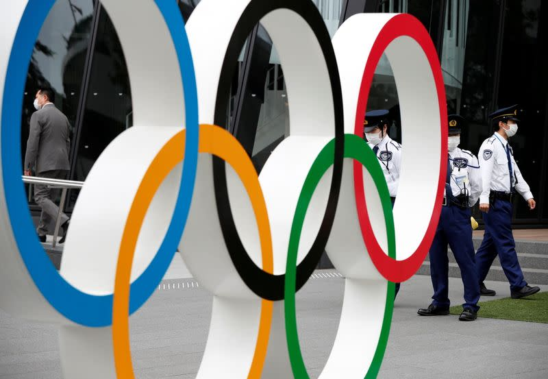 Anti-Olympics protest in Tokyo