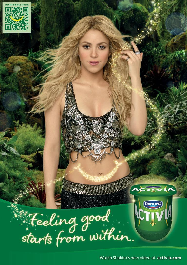"<p>Crowned <a href=""https://blogs.wsj.com/cmo/2014/07/30/activias-ad-with-shakira-crowned-most-shared-ad-of-all-time/"" rel=""nofollow noopener"" target=""_blank"" data-ylk=""slk:the most shared ad of all time"" class=""link rapid-noclick-resp"">the most shared ad of all time</a> (back in 2014), data from Unruly indicates that Shakira's ""La La Land"" commercial with Activia was shared 5.375 million times across Facebook, Twitter, and blogs in the two months after its initial launch <em>alone</em>. It's also worth noting that unlike the majority of brands featured in this round-up, <a href=""http://fortune.com/2016/06/06/celebrities-ads-junk-food-sugar/"" rel=""nofollow noopener"" target=""_blank"" data-ylk=""slk:researchers from NYU"" class=""link rapid-noclick-resp"">researchers from NYU</a> found Activia to be one of the healthiest foods endorsed by celebrities with a 71.4 score on the Nutrition Profile Index (100 is the best).</p>"
