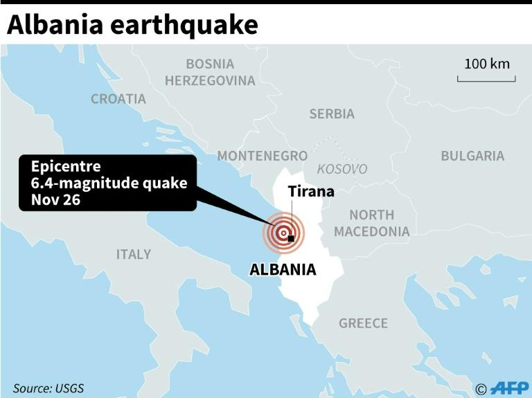 Albania earth quake