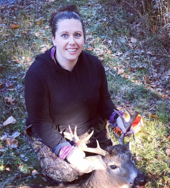 Nichole of Vermont says Tinder kicked her off the dating app because she posted hunting photos. (Photo: Courtesy of Nichole)