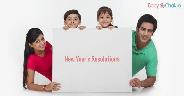New Year Resolutions Of A Confused Parent
