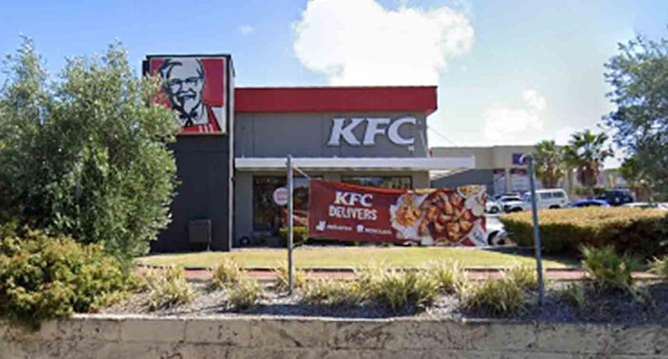 A KFC restaurant at Beldon is pictured in a Google Maps image.