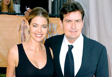 """Denise Richards Scolds Charlie Sheen on Twitter: """"Time to Pack It In and Go to Bed"""""""