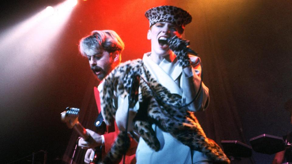 Mandatory Credit: Photo by Ian Dickson/Shutterstock (750528ly)Eurythmics - Dave Stewart and Annie LennoxVarious.