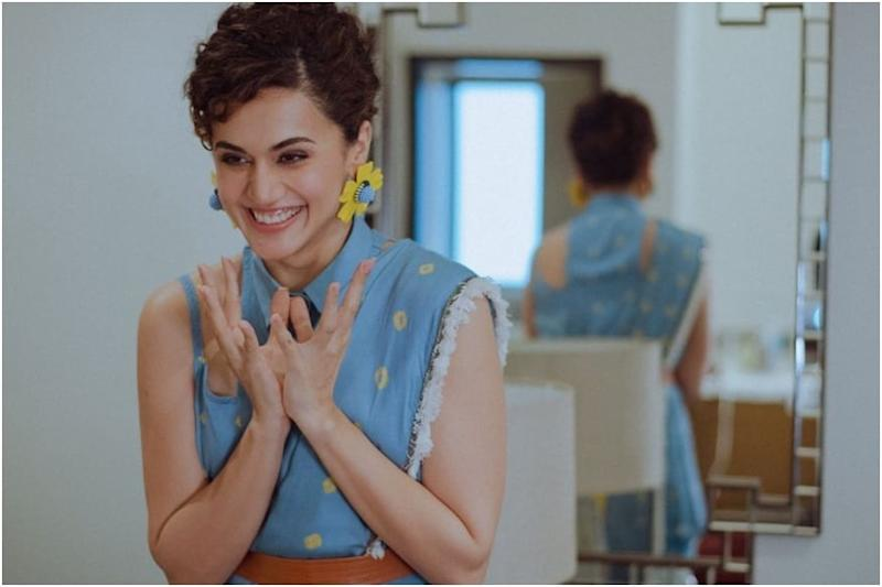 Taapsee Pannu on Her Film Choices: It Organically Happens that I Get Excited About Different Characters