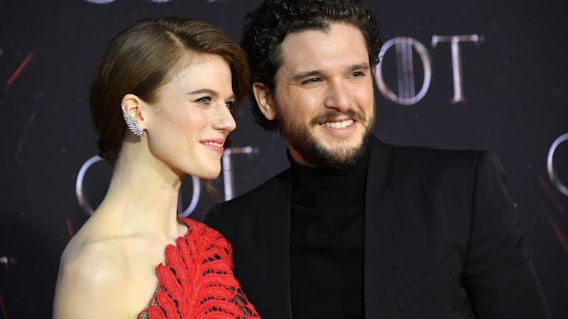 Kit Harington and Rose Leslie Step Out for First Public Outing Together in Months