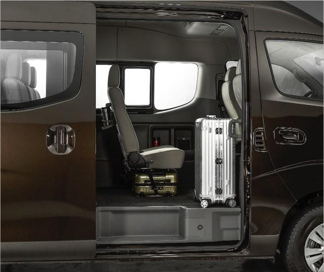 Sliding door of nissan urvan premium
