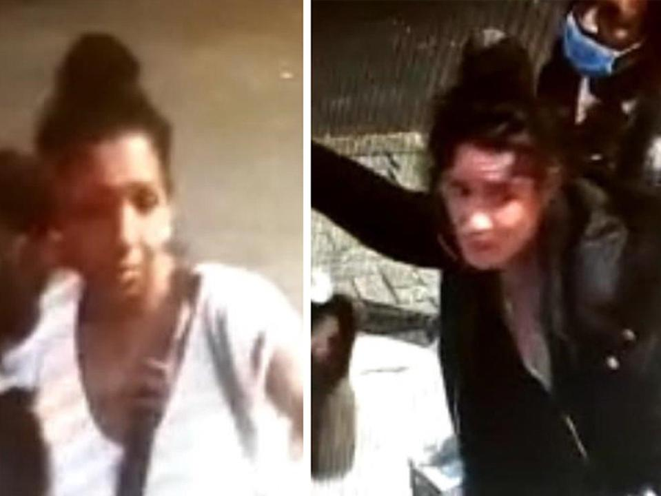 Handout CCTV images of two women police think could hold 'vital information' about incident (Metropolitan Police/PA)