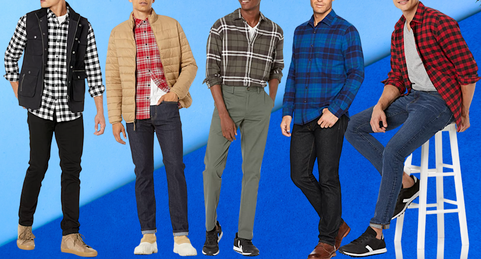 It's the 'best-fitting button-up' ever: More than 17,000 Amazon shoppers love this flannel shirt (Photos via Amazon)