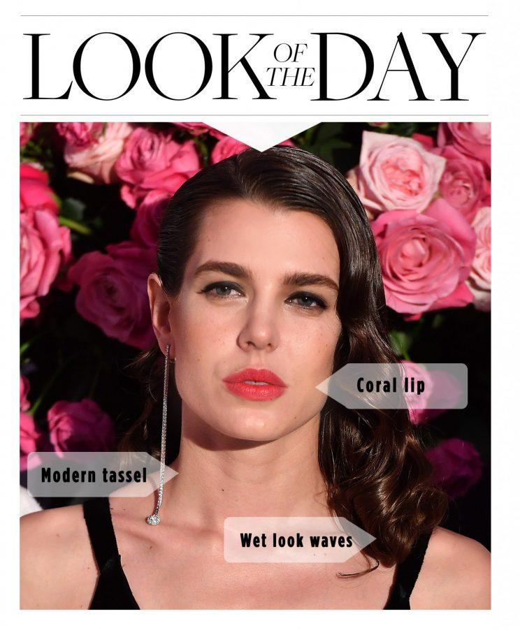 Charlotte Casiraghi, look of the day, makeup, monaco royalty