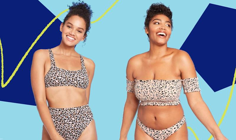 Get ahead of swimsuit season with Target's sale happening until the weekend. (Photo: HuffPost )