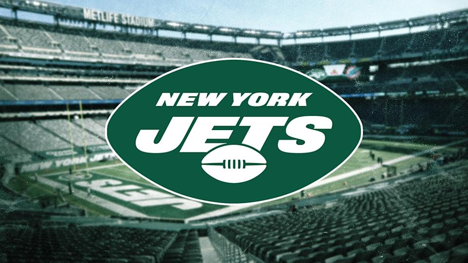 Jets treated image with logo