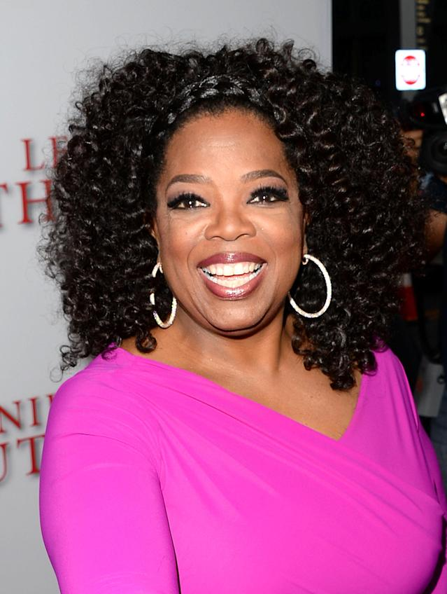<p>Winfrey attended Tennessee State University on a full scholarship, and later went on to become one of the most recognized and best-paid personalities in American media and film. (Photo: Getty Images) </p>