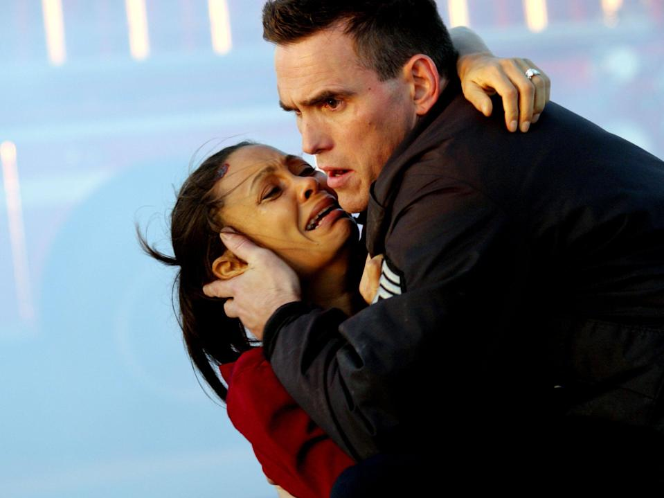 Thandiwe Newton and Matt Dillon in 'Crash'Lorey Sebastian/Lions Gate/Kobal/Shutterstock