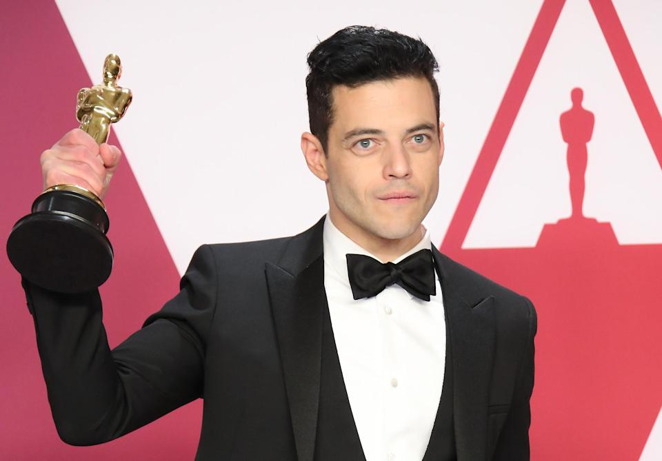Rami Malek, winner of Best Actor for 'Bohemian Rhapsody', poses in the press room at the 91st Annual Academy Awards at Hollywood and Highland on February 24, 2019 in Hollywood, California. (Photo by Dan MacMedan/Getty Images)