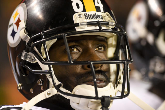 Defensive backs might want to keep their head on a swivel around the Steelers' Antonio Brown. (Getty Images)