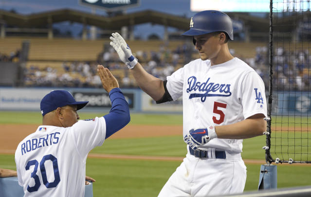 The Los Angeles Dodgers, a team expected to win at least 95 games, started the season 3-6. (AP)
