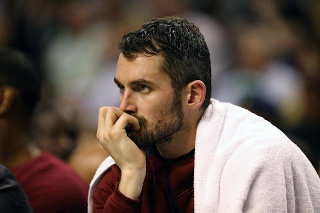 Kevin Love is expected to return to the Cleveland Cavaliers in January. (Getty Images)