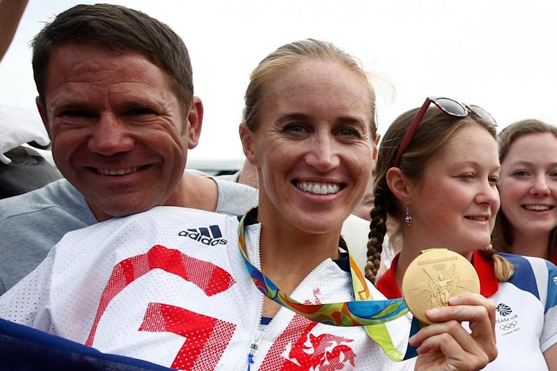 The gold medallist joked she will now need a bigger boat (Getty Images)