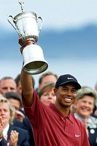 Woods won the 2000 U.S. Open at Pebble Beach by an astonishing 15 strokes. But that was then