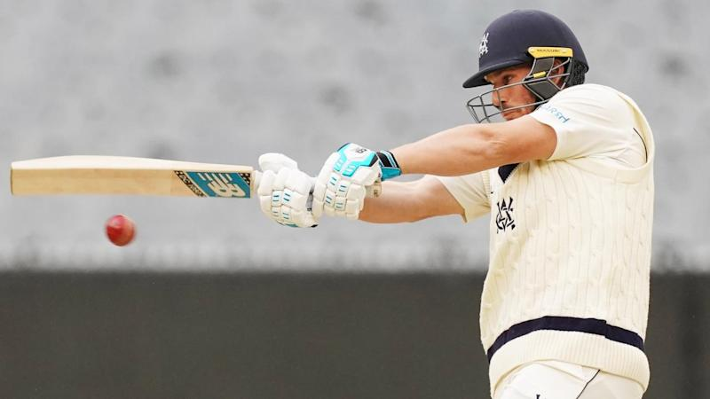 Aaron Finch will be a key batsman in Victoria's Sheffield Shield run chase against Queensland
