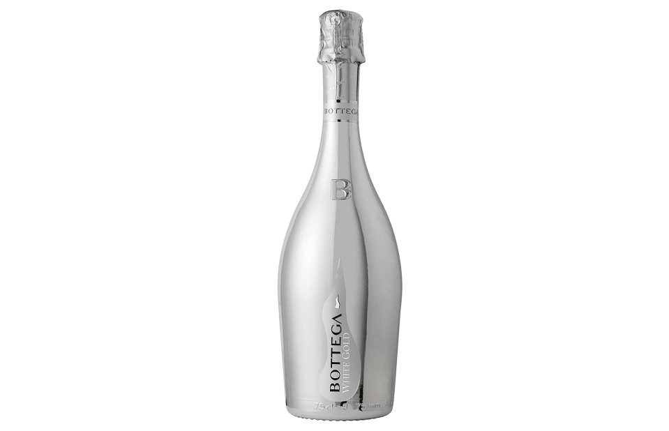 Vino Espumosos Bottega White Gold 750 ml. Foto; amazon.com.mx