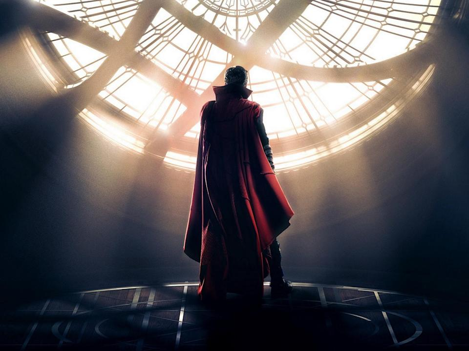 Benedict Cumberbatch's Marvel debut transcended its fairly bog-standard origin tale trappings thanks to its stunning, mind-bending visuals and improbably amazing supporting cast that included Chiwitel Ejiofor, Rachel McAdams, Tilda Swinton, and Michael Stuhlbarg (credit: Marvel Studios)