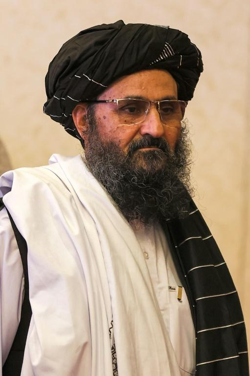 Arrested in Pakistan in 2010, Baradar was kept in custody until pressure from the United States saw him freed in 2018 and relocated to Qatar (AFP/KARIM JAAFAR)