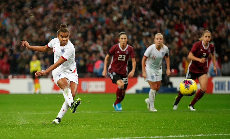 England's Nikita Parris Action Images via Reuters/Andrew Boyers