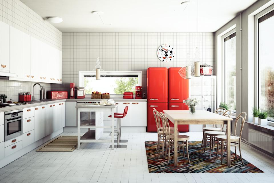 "<h1 class=""title"">Scandinavian Domestic Kitchen</h1> <cite class=""credit"">Bulgac</cite>"