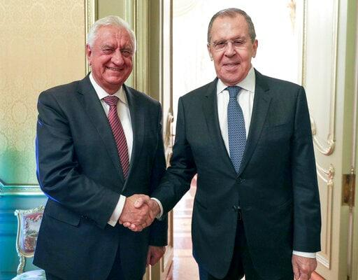 Russia's FM Laments Sanctions At UN Amid Tension With West