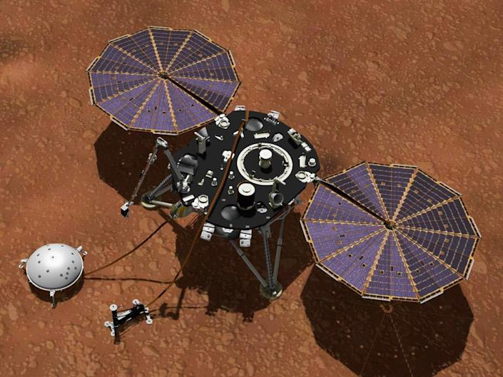 InSight lands March