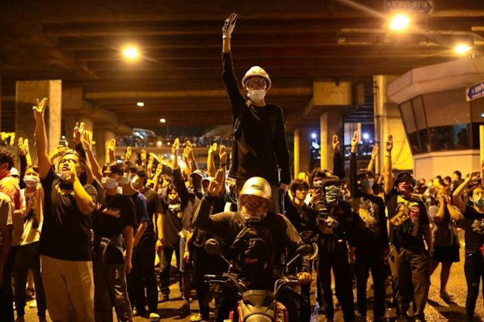 Pro-democracy protests have escalated this week