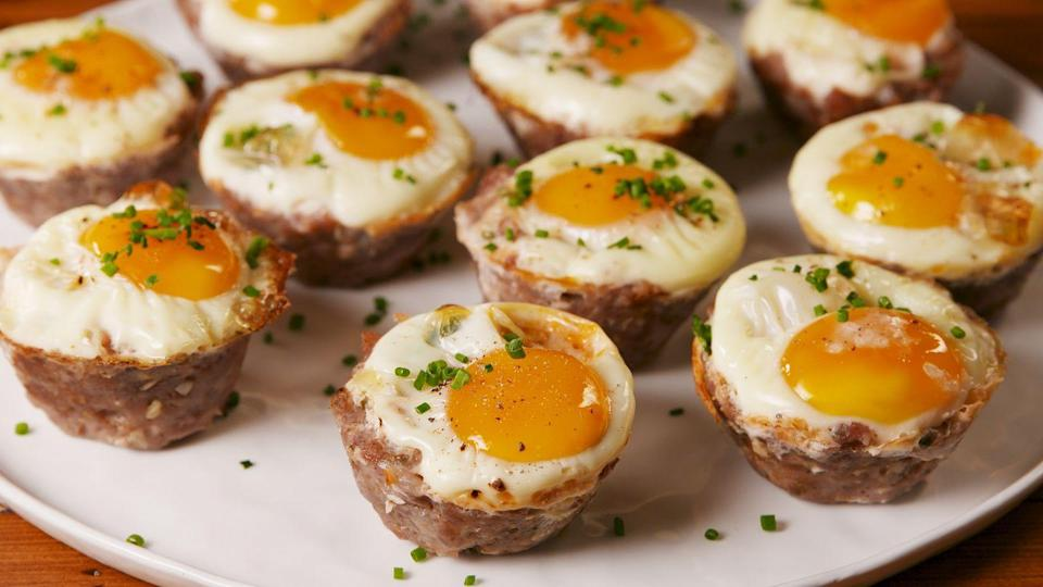 "<p>A Keto go-to.</p><p>Get the recipe from <a href=""https://www.delish.com/cooking/recipe-ideas/a22074793/keto-breakfast-cups-recipe/"" rel=""nofollow noopener"" target=""_blank"" data-ylk=""slk:Delish."" class=""link rapid-noclick-resp"">Delish.</a></p>"