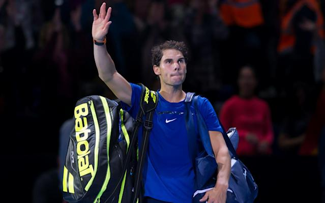 Rafael Nadal has withdrawn from the ATP Finals with severe knee pain - CameraSport