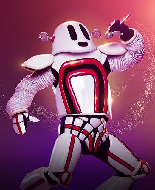 The Robot on TheMasked Singer Australia 2019. Photo: Channel 10