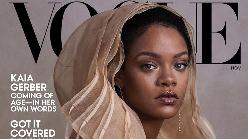 Rihanna Confirms She's in an 'Exclusive Relationship' and Describes Her Dream Wedding Dress
