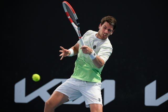 Cameron Norrie reached the second round
