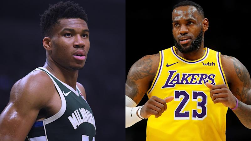 A Combined 48 8 Record As Lebron And Giannis Go Head To Head
