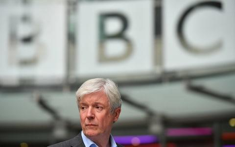 Tony Hall, director-general, has pledged to close the gender pay gap - Credit: PA