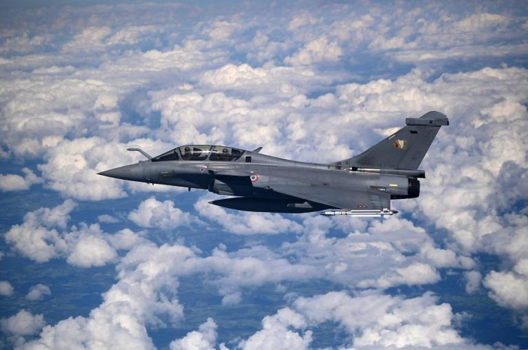 Greece is also buying French Rafale jets (AFP/Christophe SIMON)