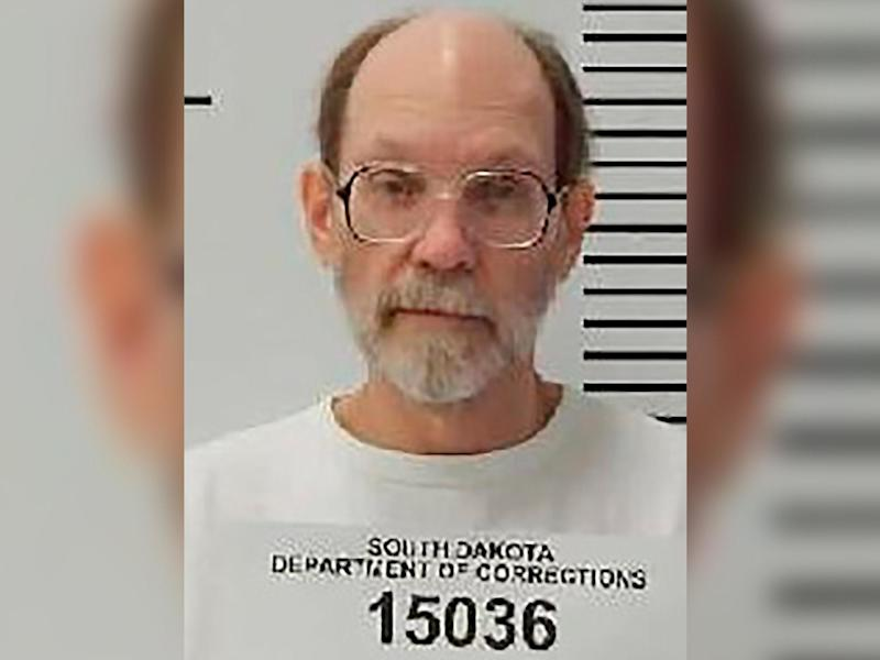 Charles Rhines murdered 22-year-old Donnivan Schaefer in 1992 after Schaeffer surprised him while he was burgling a doughnut shop: South Dakota Department of Corrections via AP