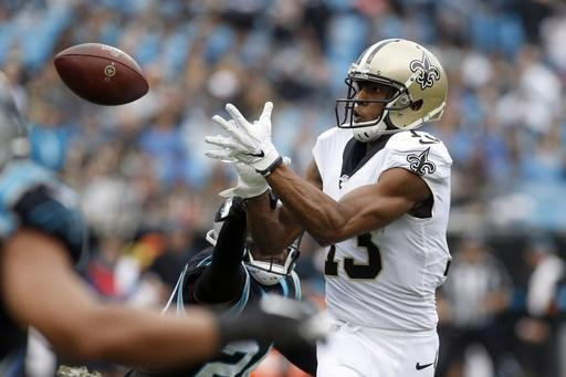 Saints rule out WR Thomas, 5 other starters vs. Lions