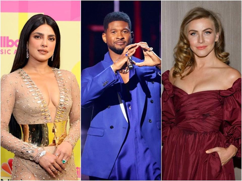 Priyanka Chopra, Usher and Julianne Hough were criticised for hosting competition show for activists (Getty Images)