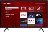 <p>Treat yourself to a new TV with the <span>TCL 32-inch 3-Series 720p Roku Smart TV</span> ($148). It has Roku built-in so all your streaming services can be programmed directly into the TV without the need for streaming sticks and devices.</p>