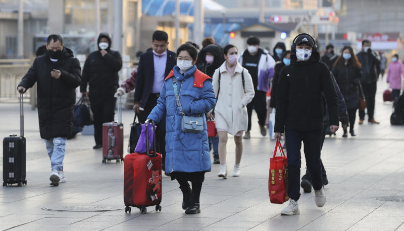 The number of the patients who have been infected with a new coronavirus has reached to 9,692 and the death toll has been confirmed over 213 so far as of January 31th in China. Source: The Yomiuri Shimbun via AP Images