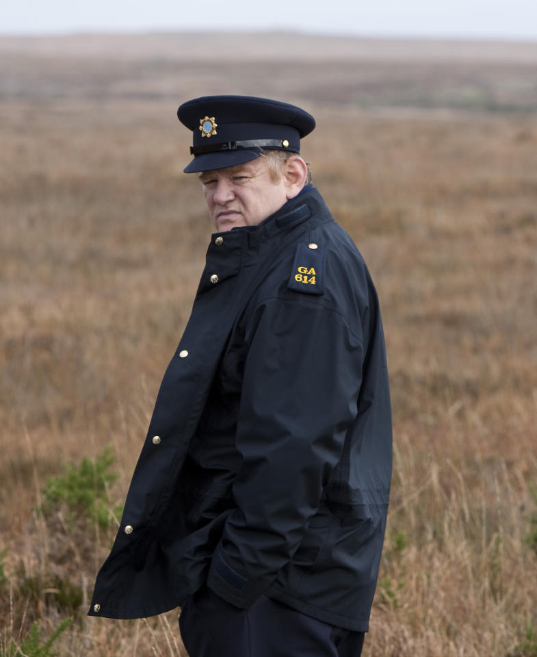 "Brendan Gleeson, ""The Guard"""